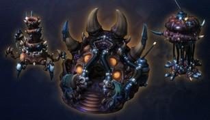 StarCraft II: Zerg Cerberus Structure Skins Bundle