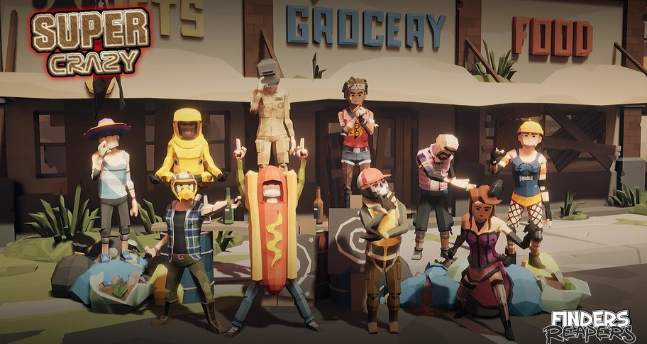 Finders Reapers - Super Crazy Character Pack