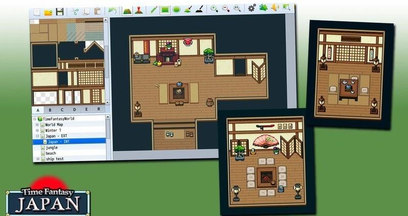 RPG Maker MZ - Time Fantasy: Japan