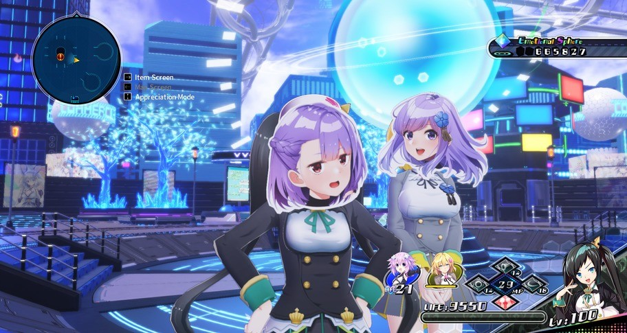 Neptunia Virtual Stars - Asano Sisters Project Pack