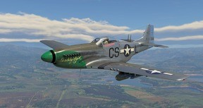 War Thunder - Ray Wetmore's P-51D-10 Pack