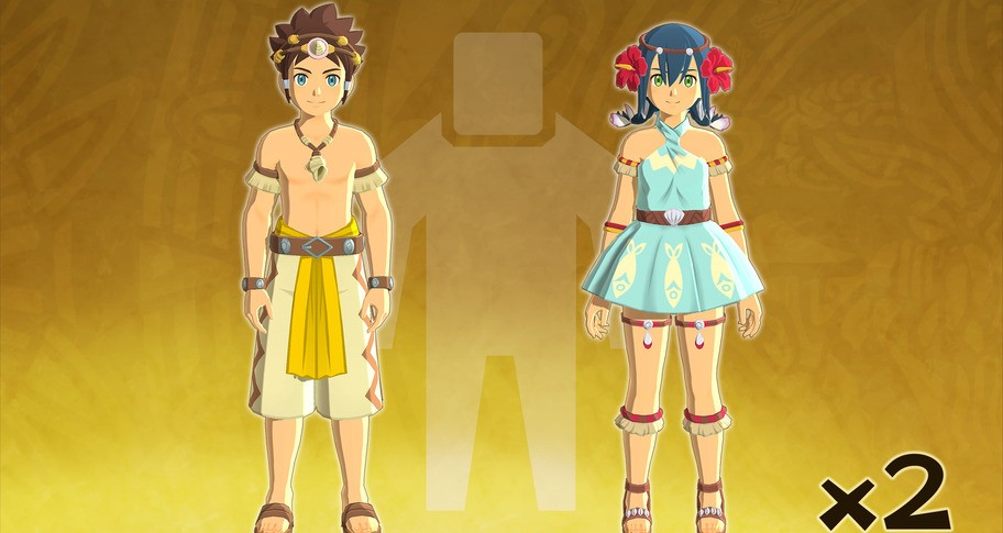 Monster Hunter Stories 2: Wings of Ruin - Character Edit Ticket Two-Pack