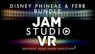 Jam Studio VR EHC - Disney Phineas and Ferb Bundle