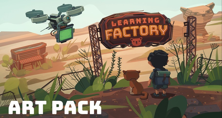 Learning Factory Art Pack