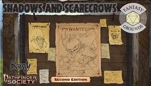 Fantasy Grounds - Pathfinder 2 RPG - Pathfinder Bounty #3: Shadows and Scarecrows