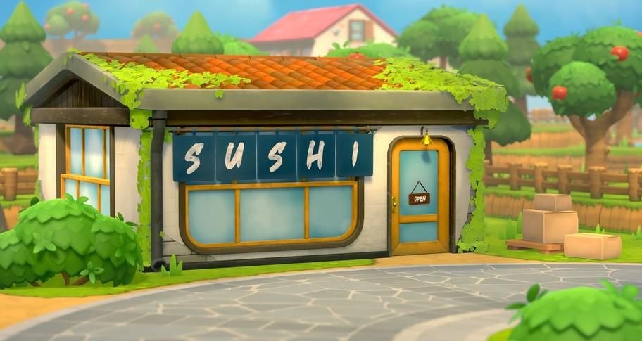 Rolling Hills: Make Sushi, Make Friends