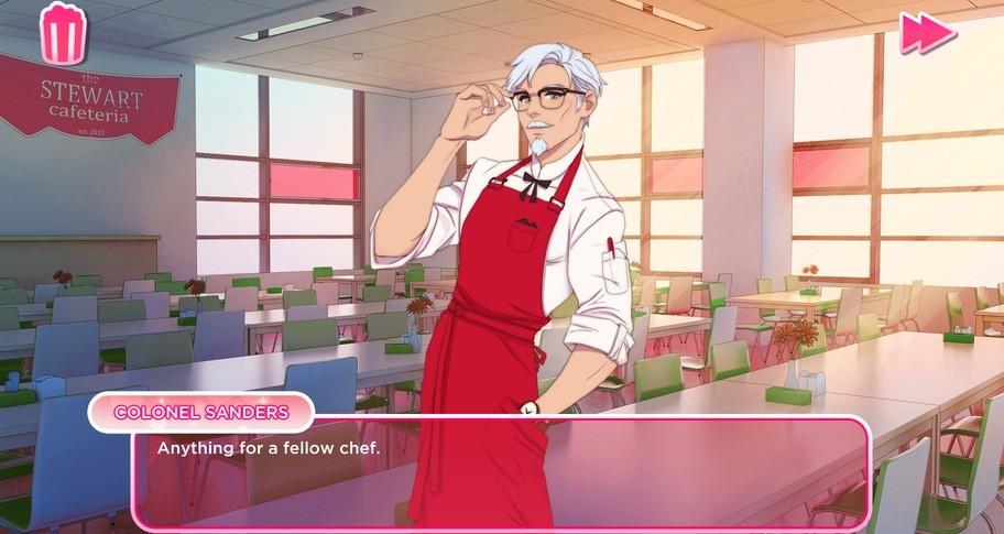 I Love You, Colonel Sanders! A Finger Lickin' Good Dating Simulator