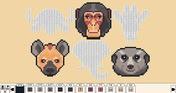 Coloring Pixels - Safari Pack