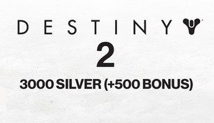 Destiny 2 - 3000 Silver (+500 Bonus)