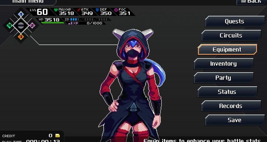 CrossCode - Ninja Skin