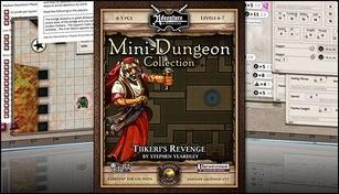 Fantasy Grounds - Mini-Dungeon #009: Tiikeri's Revenge (PFRPG)