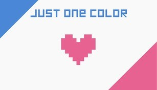 Just One Color