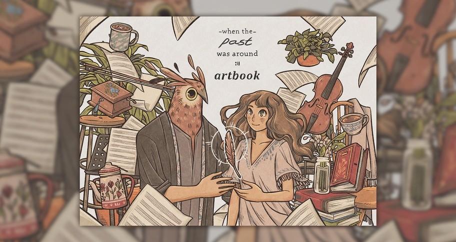 When The Past Was Around - Artbook