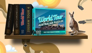 1001 Jigsaw. World Tour: Australian Puzzles