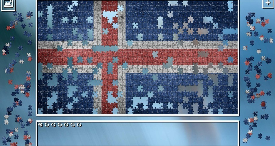 Super Jigsaw Puzzle: Generations - Iceland