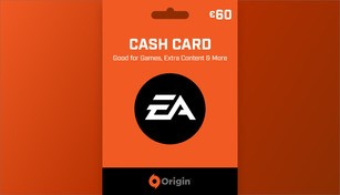 EA Origin Cash Card 60 EUR
