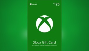 Xbox Live Gift Card 25 CAD