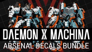 DAEMON X MACHINA - Arsenal Decals Bundle