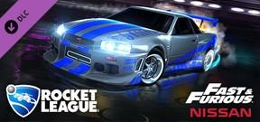 Rocket League - Fast & Furious '99 Nissan Skyline GT-R R34