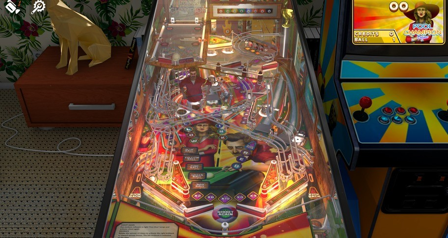 Zaccaria Pinball - Pool Champion Deluxe Pinball Table