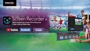 Cyberlink Screen Recorder 4  - Record your games, RPG, car game, shooting gameplay - Game Recording and Streaming Software