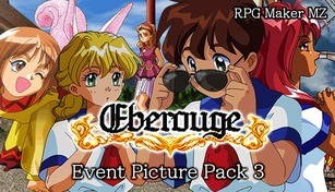 RPG Maker MZ - Eberouge Event Picture Pack 3