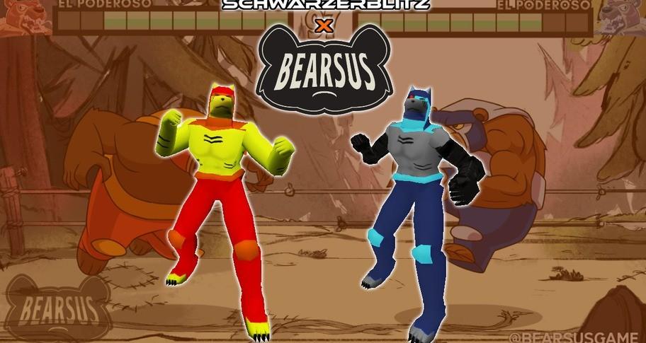 Schwarzerblitz - Bearsus Collaboration Costumes