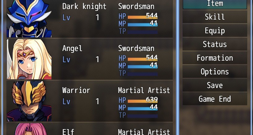 RPG Maker MZ - Dark Fantasy Resource Pack