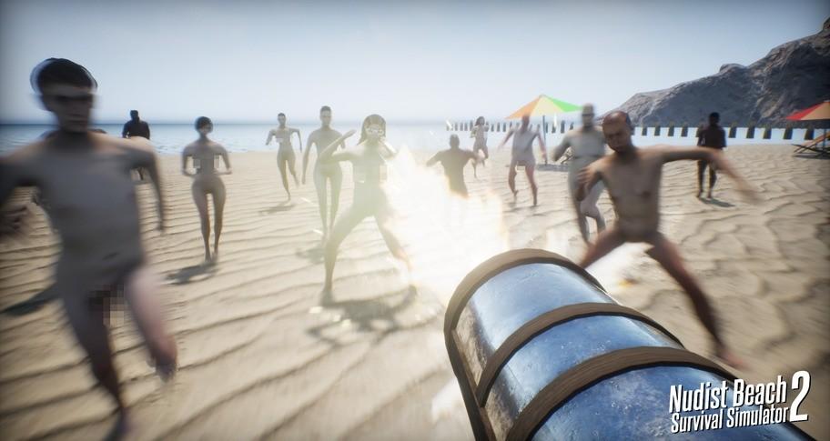 Nudist Beach Survival Simulator 2