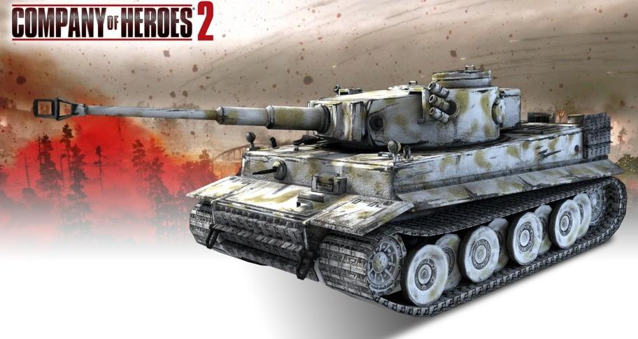 COH 2 - German Skin: (H) Stalingrad Winter Pattern