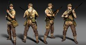 Zombie Army 4: Afrika Karl Outfit