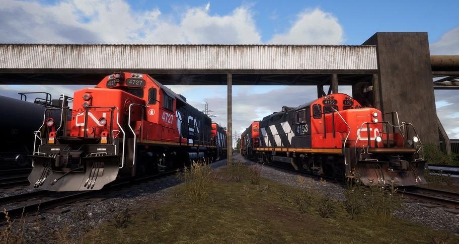Train Sim World: Canadian National Oakville Subdivision: Hamilton - Oakville Route Add-On