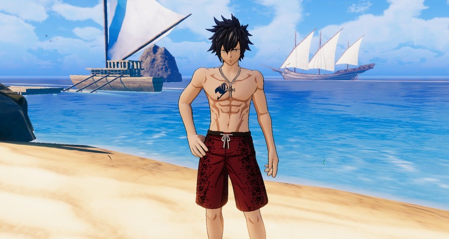 """FAIRY TAIL: Gray's Costume """"Special Swimsuit"""""""