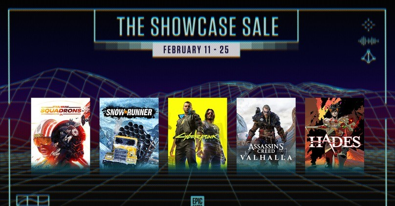 Epic Games Store - The Showcase Sale 2021