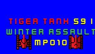 Tiger Tank 59 Ⅰ Winter Assault MP010