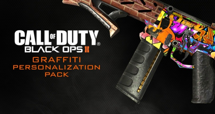 Call of Duty: Black Ops II - Graffiti Personalization Pack