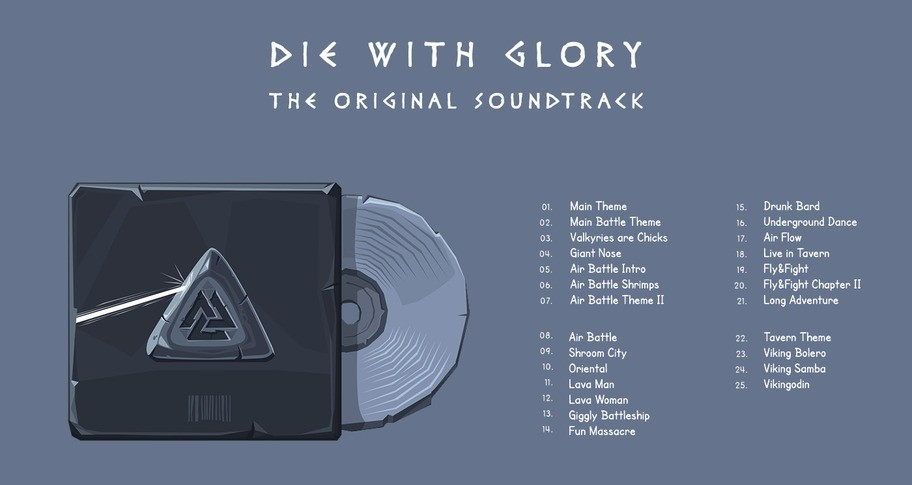 Die With Glory - The Original Soundtrack