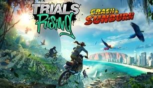 Trials Rising - Crash & Sunburn