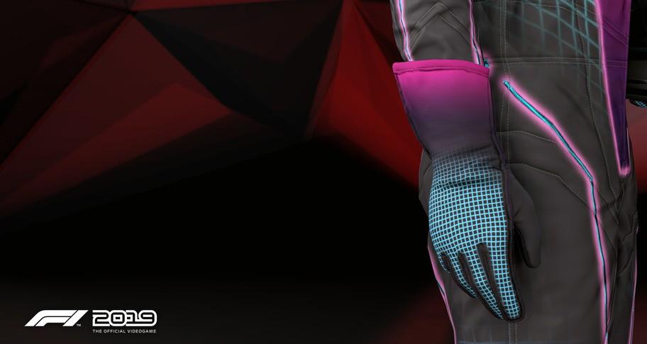 F1 2019: Gloves 'Stunning Violet'