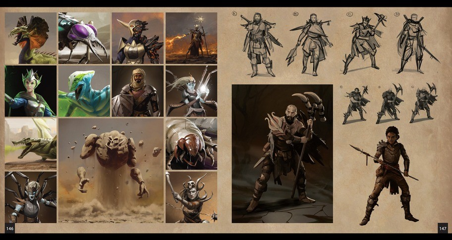 The Art of Ashe - Digital Artbook and Map