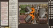 Fantasy Grounds - Meander Map Pack: Autumn City (Map Pack)