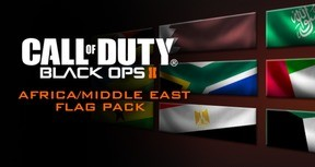 Call of Duty: Black Ops II - African Flags of the World Calling Card Pack