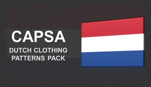 Capsa - Dutch Clothing Patterns Pack