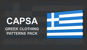 Capsa - Greek Clothing Patterns Pack