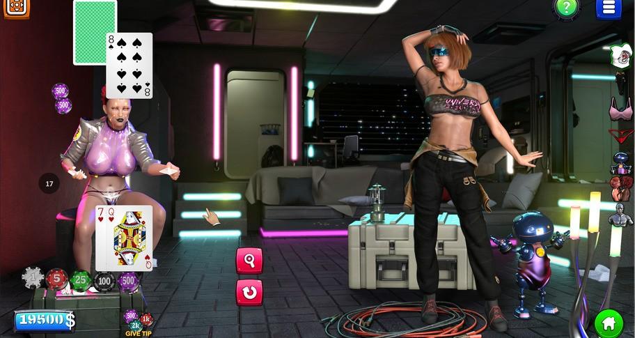 Strip Black Jack - Cyber Sex