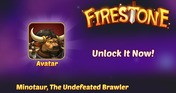 Firestone Idle RPG - Minotaur, The Undefeated Brawler
