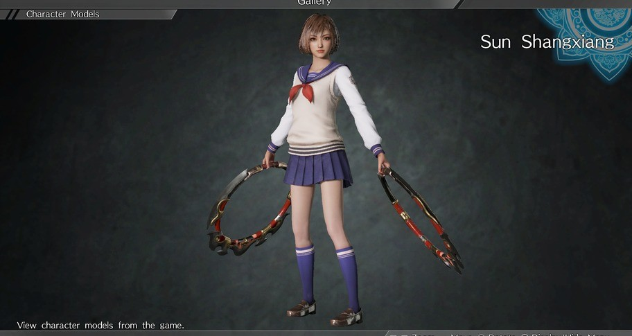 DYNASTY WARRIORS 9: Sun Shangxiang (High School Girl Costume) / 孫尚香 「女子高生風コスチューム」