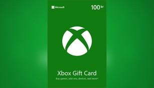 Xbox Live Gift Card 100 SEK