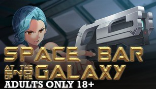Space Bar at the End of the Galaxy Adults Only 18+ Patch