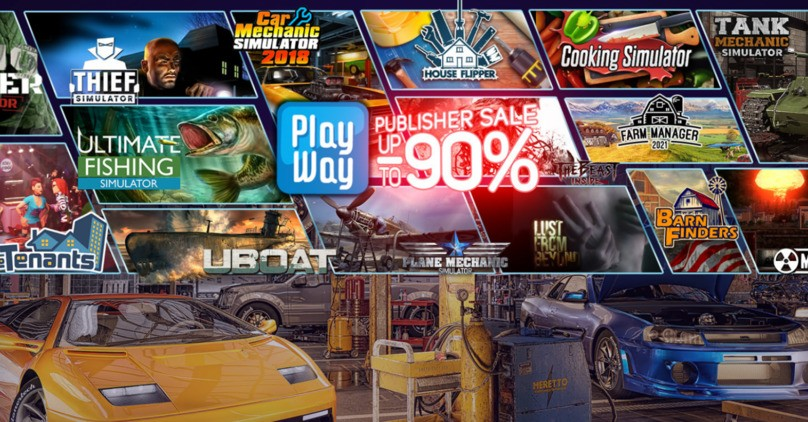 Steam - Playway Publisher Sale 2021